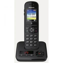 PANASONIC Téléphone sans fil DECT Répondeur KXTGH720FRB