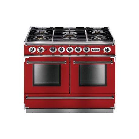 Cuisinière FALCON Continental 1092 Mixte rouge cerise - FCON1092DFRD/NM