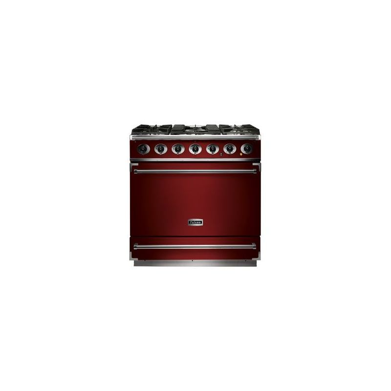 cuisini re mixte falcon 900s rouge cerise f900sdfrd nm. Black Bedroom Furniture Sets. Home Design Ideas
