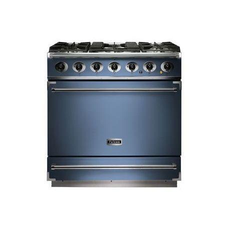 Cuisinière mixte FALCON 900S bleu de chine - F900SDFCA/NM