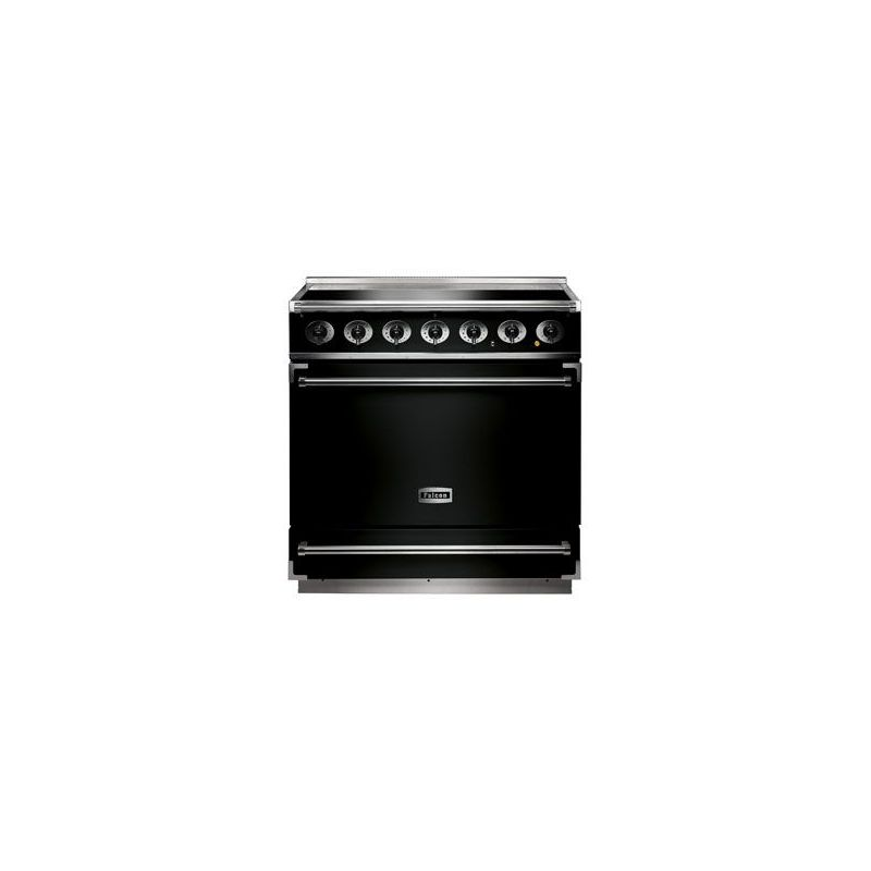 cuisini re induction falcon 900s noir. Black Bedroom Furniture Sets. Home Design Ideas