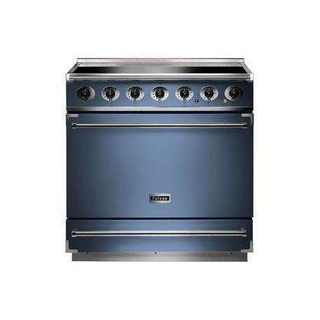 Cuisinière induction FALCON 900S bleu de chine