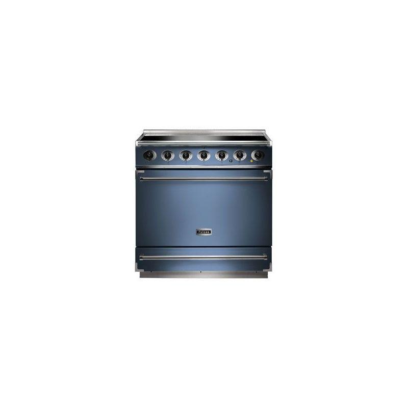 cuisini re induction falcon 900s bleu de chine. Black Bedroom Furniture Sets. Home Design Ideas