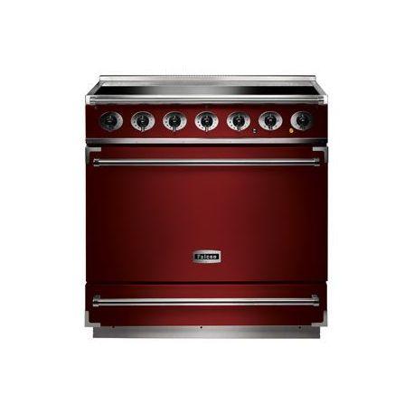 Cuisinière induction FALCON 900S rouge cerise