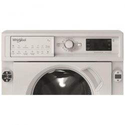 WHIRLPOOL Lave-linge Tout-intégrable 7 Kg - 1400 tr/mn BIWMWG71483FRN