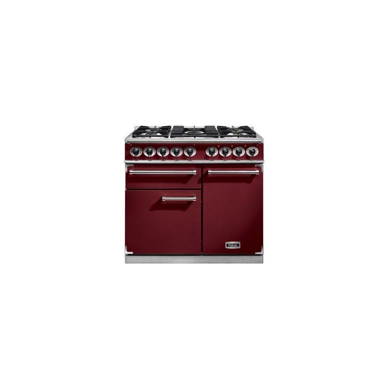 cuisini re mixte falcon deluxe 1000 rouge airelle. Black Bedroom Furniture Sets. Home Design Ideas