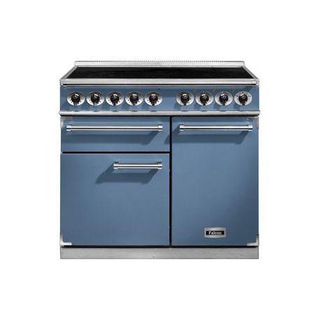 Cuisinière Induction FALCON DELUXE 1000 bleu de chine
