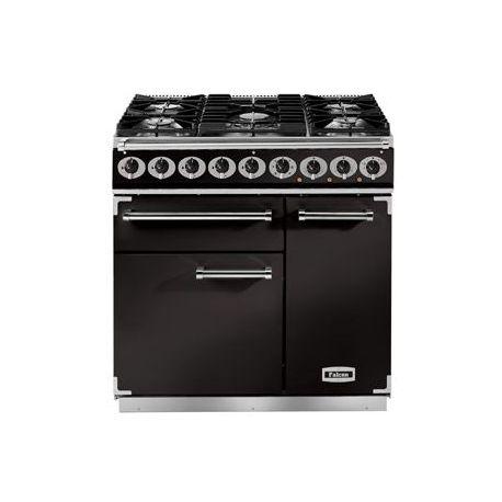 Cuisinière mixte FALCON DELUXE 900 noir