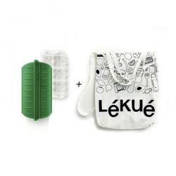 LEKUE Kit Papillotte Green Shopper