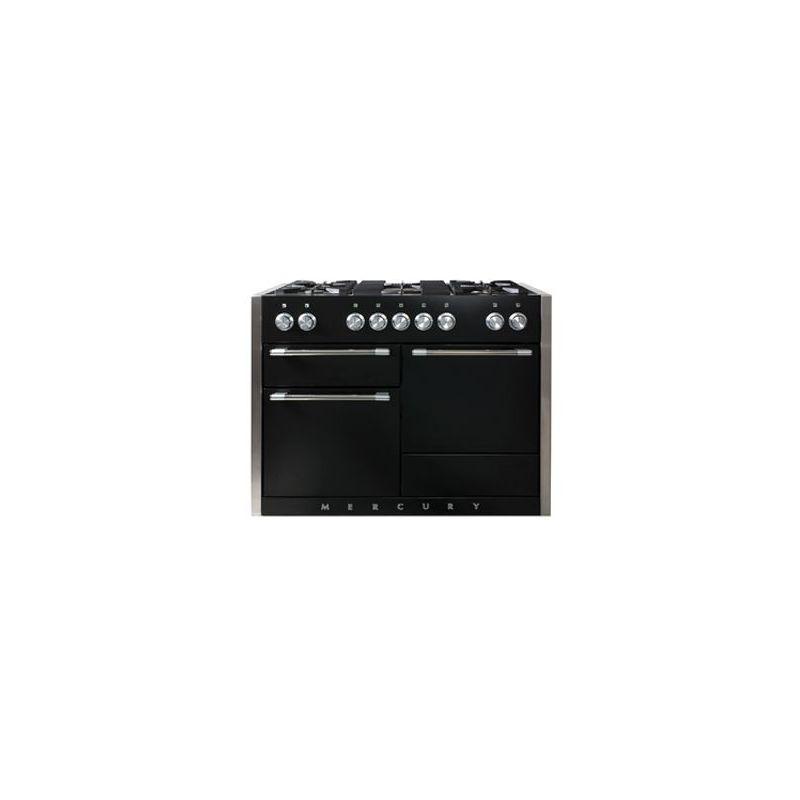 cuisini re mixte falcon mercury 1200 noir mat mcy1200dfmb eu. Black Bedroom Furniture Sets. Home Design Ideas