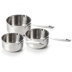 BEKA LINE Série de 3 casseroles 16 à 20 cm - Maestro