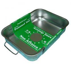 STEEL PAN Plat à four haut 35 x 26 cm