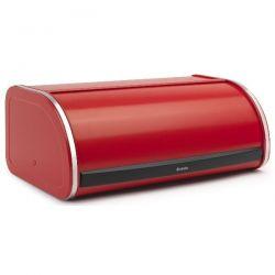 BRABANTIA Boîte à pain avec couvercle coulissant - Passion Red