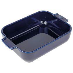 PEUGEOT Plat à four rectangle 25 cm Bleu Profond - Appolia