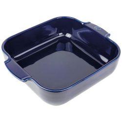 PEUGEOT Plat à four carré 28 cm Bleu Profond - Appolia