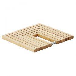 POINT VIRGULE Dessous de plat pliant - Bamboo