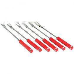 NOUVEL AG Lot de 6 fourchettes à fondue