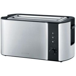 SEVERIN GRILLE PAINS 1400W 2 TRANCHES TH° VAR INOX [-]
