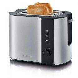 SEVERIN Toaster 2 fentes Inox & Noir - 2589