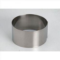 LACOR Cercle à mousse 7.5 cm Inox