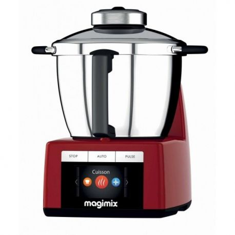 MAGIMIX Robot cuiseur cook expert rouge 18904F