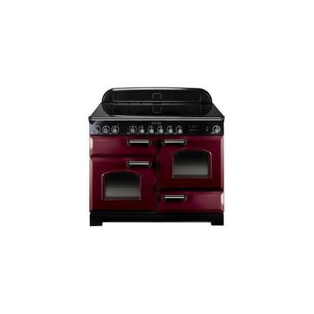 cuisini re falcon classic 110 induction rouge chrome. Black Bedroom Furniture Sets. Home Design Ideas