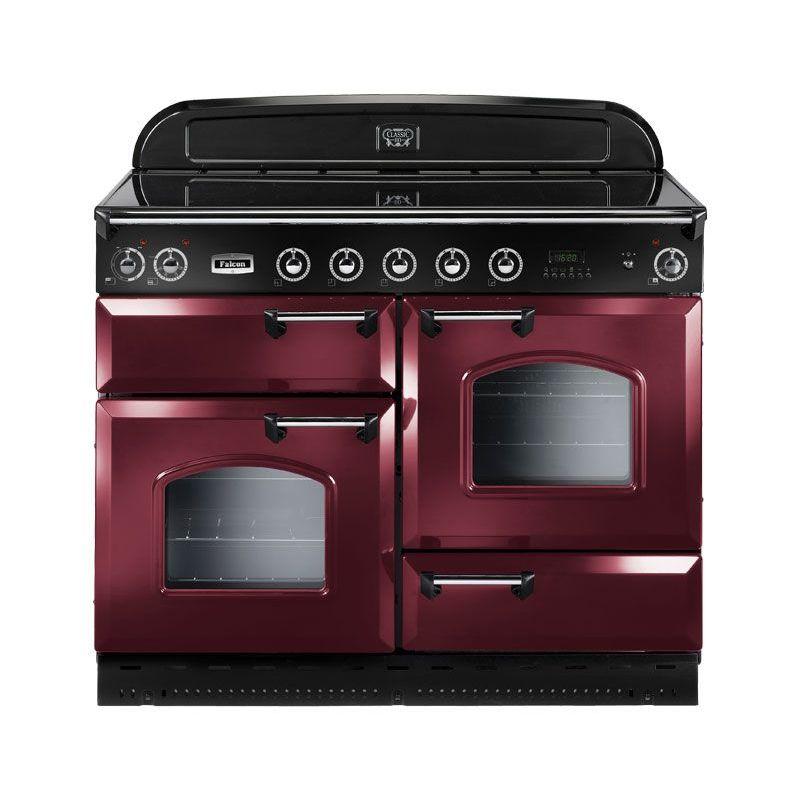 cuisini re falcon classic 110 vitroc ramique rouge. Black Bedroom Furniture Sets. Home Design Ideas