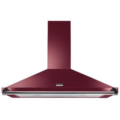 Hotte FALCON Classic 110 Rouge airelle/Chrome - FALHDC110CY/C-EU