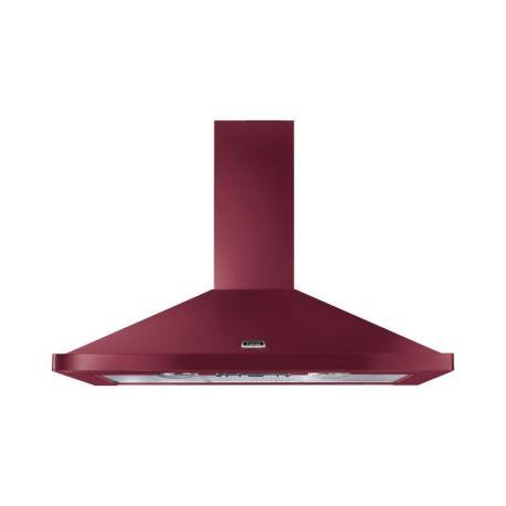 Hotte FALCON 110 Rouge airelle/Chrome - LEIHDC110CYC