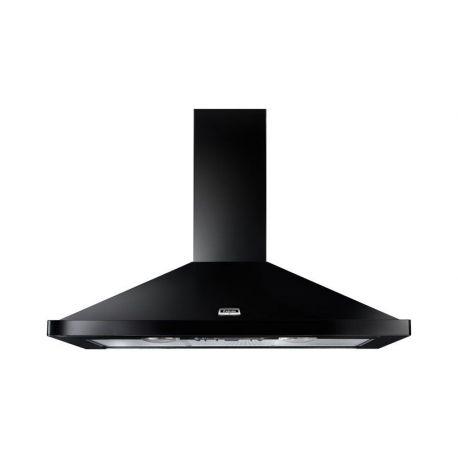 Hotte FALCON 90 Noir/Chrome - LEIHDC90BC/-EU