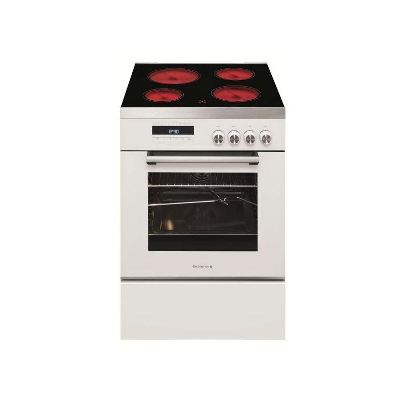 cuisiniere de dietrich dcv1568w vitroceramique gaz. Black Bedroom Furniture Sets. Home Design Ideas