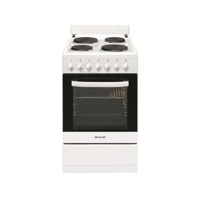 achat cuisiniere electrique brandt ke1500 w avis pas cher. Black Bedroom Furniture Sets. Home Design Ideas
